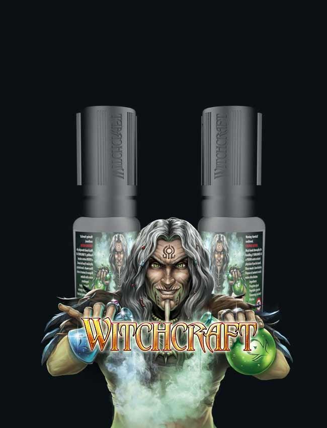 10 ml BLUE LUSH BY WITCHCRAFT E LIQUID IN IRELAND