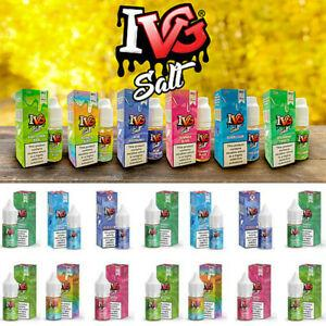 DEAL OF THE DAY IVG nic salts ( 10 Bottles)