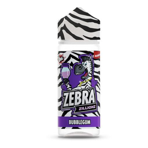 Bubblegum Zillionz by Zebra 100 ml