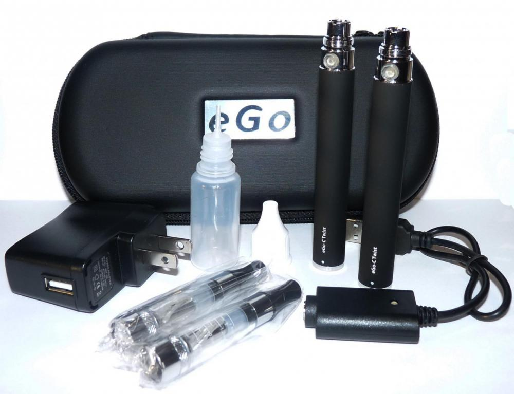 Ego C TWIST TWIN PACK + FREE LEATHER CASE