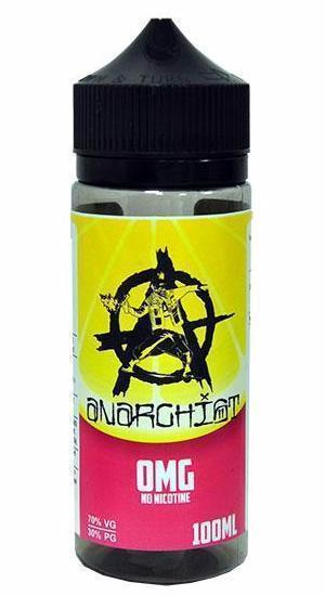 ANARCHIST PINK 0MG 100ML (2 nic shots included)
