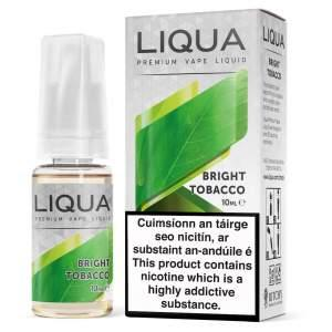 10 ML LIQUA BRIGHT TOBACCO E LIQUID IRELAND