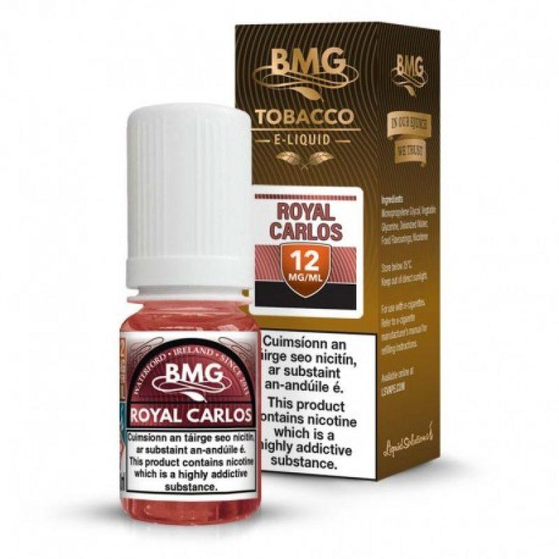 Royal carlos tobacco e liquid Irish made
