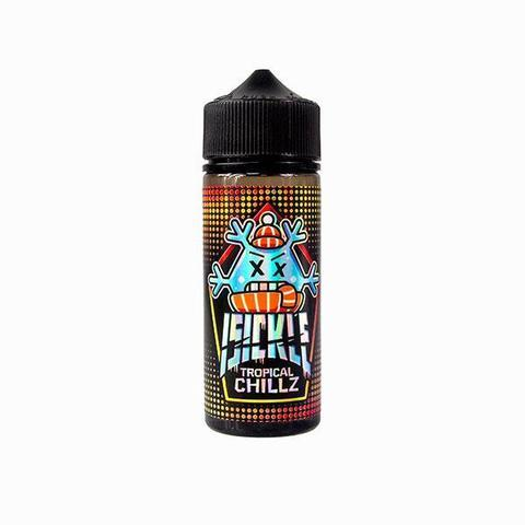 Isickle Tropical Chillz 100ml Shortfill