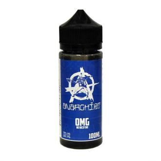 ANARCHIST BLUE 0MG 100ML (2 nic shots included)