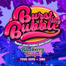 Burst My Bubble - Blueberry Grape e liquid
