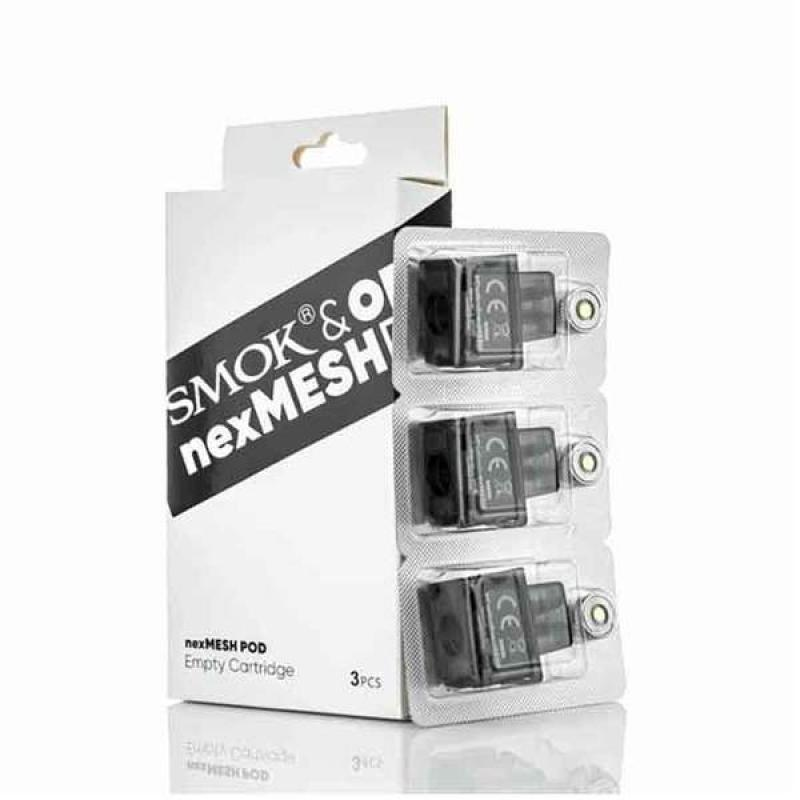 SMOK & OFRF nexMesh Pod Replacement Empty Cartridge ( 3 pack )