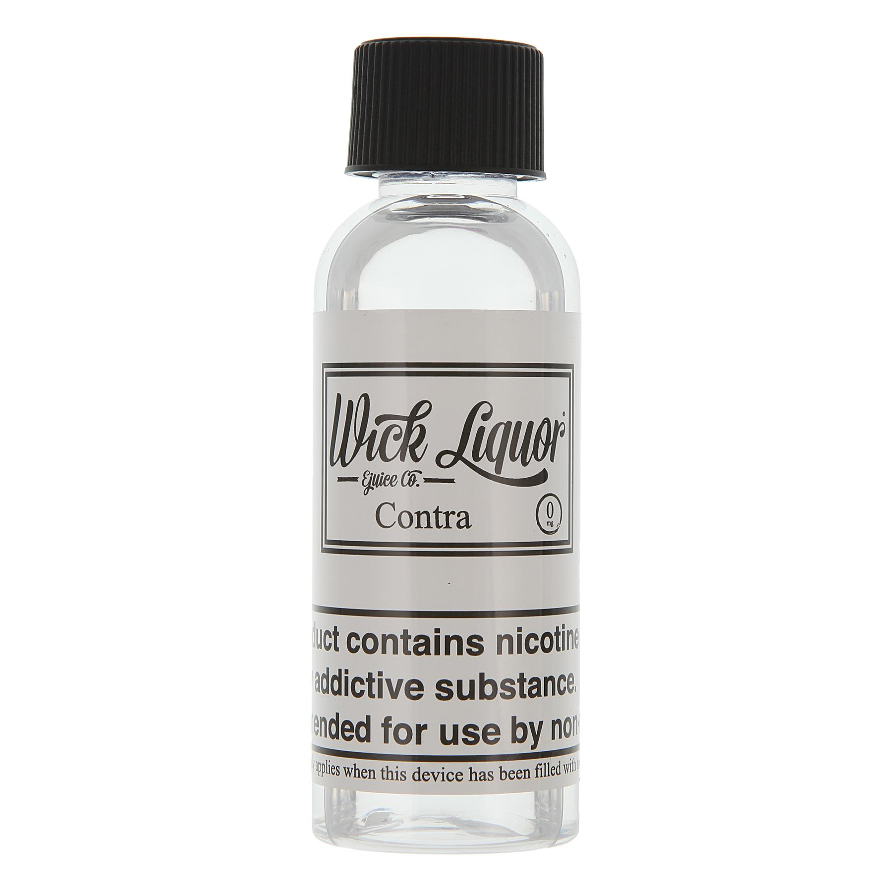 50 mlCONTRA E LIQUID E JUICE BY WICK LIQUOR IN IRELAND