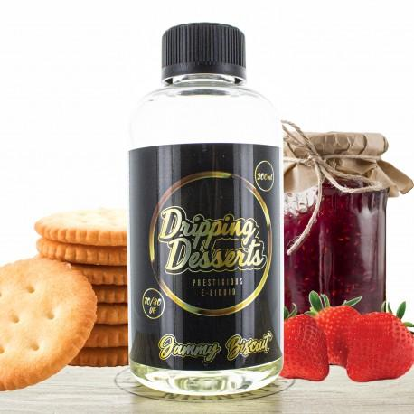 Jammy Biscuit by Dripping Desserts 200ml Shortfill E liquid Ireland