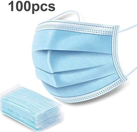 100 pcs 3 ply Disposable Face mask in Ireland