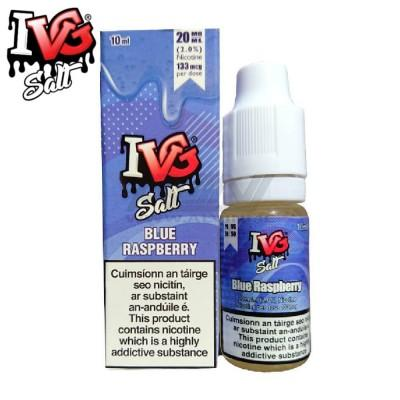 IVG nic salt- Blue raspberry, 10 ml