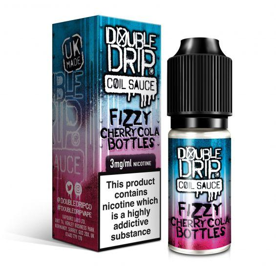 Double Drip Fizzy Cherry Cola Bottles E-Liquid 10ml