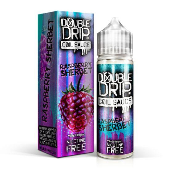 Raspberry Sherbet Coil Sauce 50 ml by Double Drip e liqu