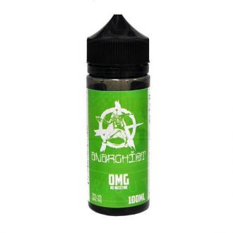 ANARCHIST GREEN 0MG 100ML (2 nic shots included)