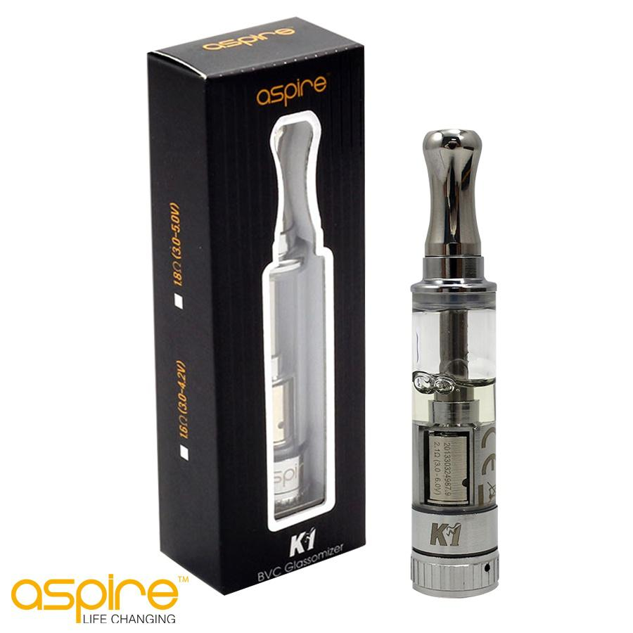 Aspire K1 Glassomizer now in Ireland