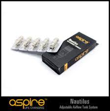NEW ASPIRE NAUTILUS BVC REPLACEMENT COILS 5PACK