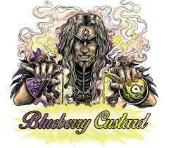 Blueberry custard e liquid by Witchcraft Ireland