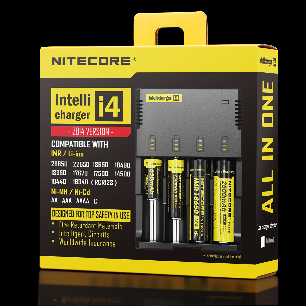 Nitecore I4 charger in Ireland