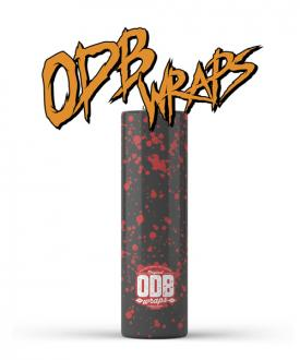 ODB 18650 Battery Wraps – Splatter in Ireland