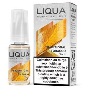 10 ML LIQUA TRADITIONAL TOBACCO E LIQUID IRELAND