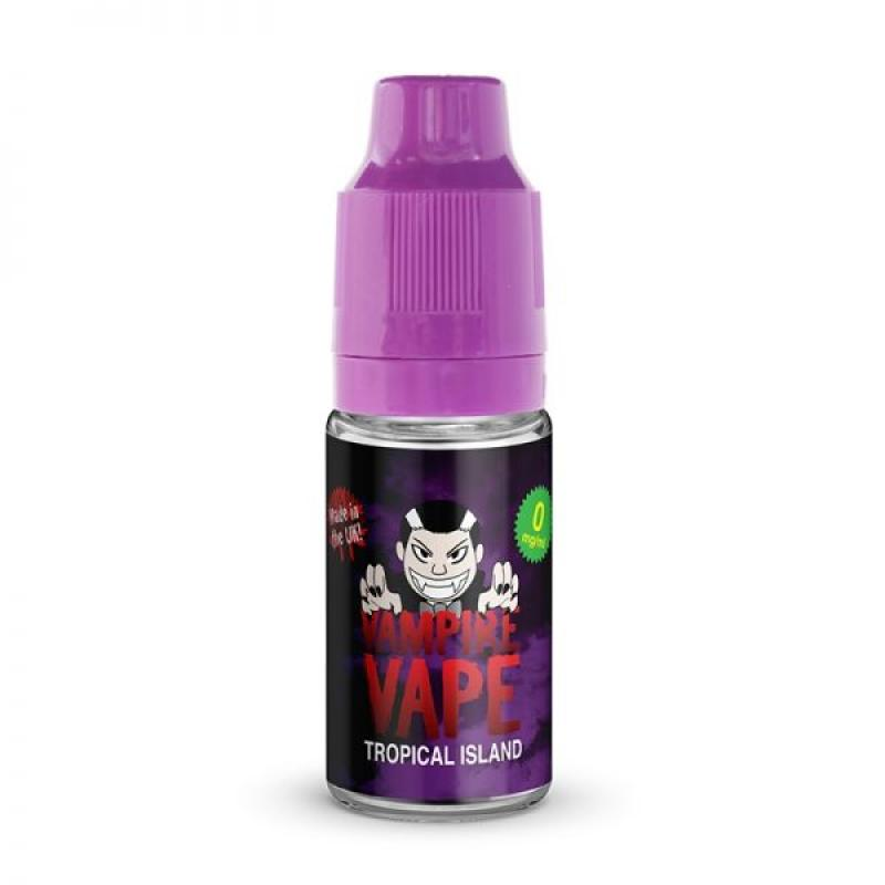 Tropical Island - 10ml Vampire Vape E-Liquid