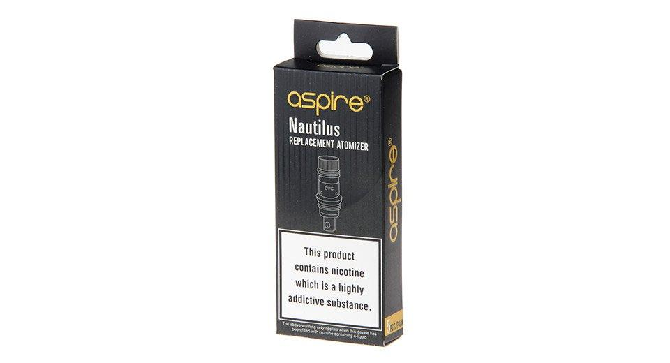 ASPIRE NAUTILUS 2 REPLACEMENT HEADS / COILS 5 PACK