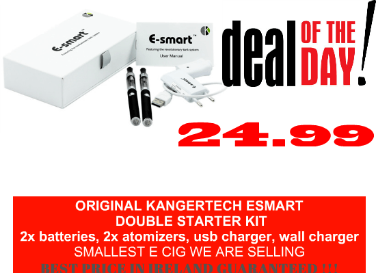 E cigarette Kangertech Esmart best price with free shipping Ireland