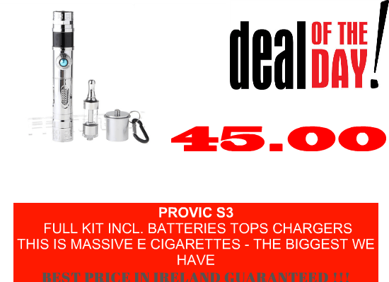 Electronic cigarettes Ireland