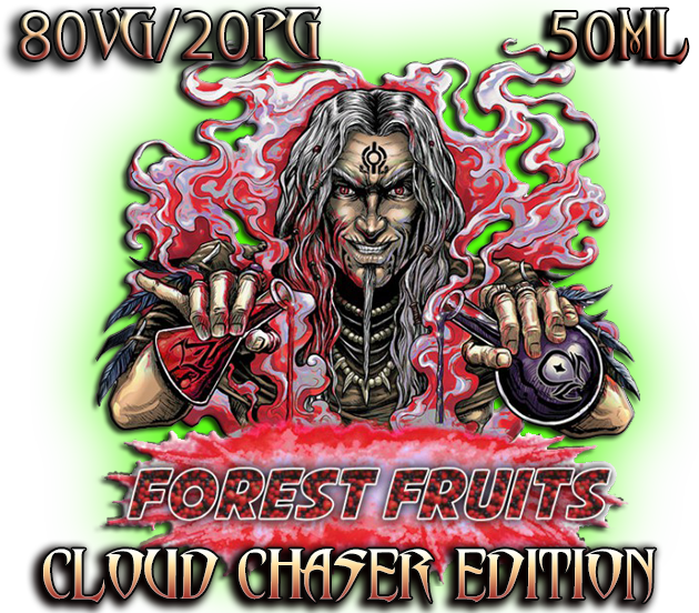 Forest Fruit new special cloud chasser edition e juice in Ireland by Witchcraft e liquid e juices ireland