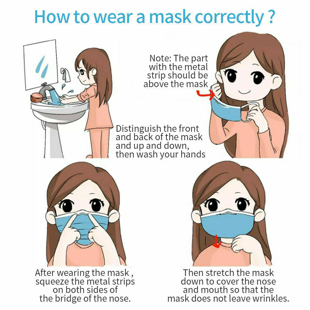 Face Mask Ireland how to wear