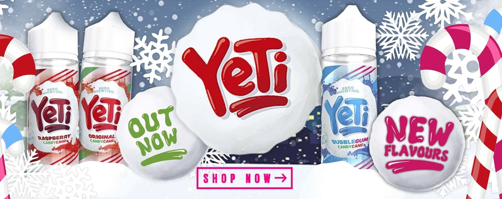 Yeti E-liquid Ireland - Yeti Vape Juice in Ireland